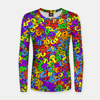 Thumbnail image of LGBTQ+ Women sweater, Live Heroes