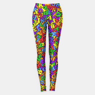 Thumbnail image of LGBTQICAPF2K+ Leggings, Live Heroes