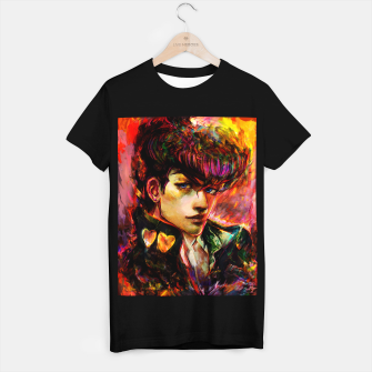 Thumbnail image of jojo bizarre adventure josuke T-shirt regular, Live Heroes
