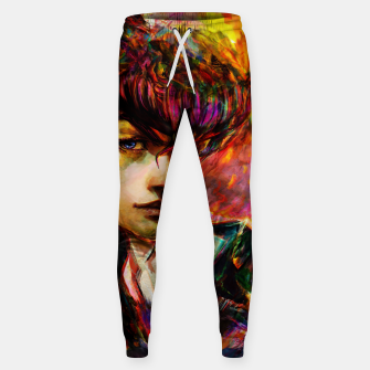Thumbnail image of jojo bizarre adventure josuke Sweatpants, Live Heroes