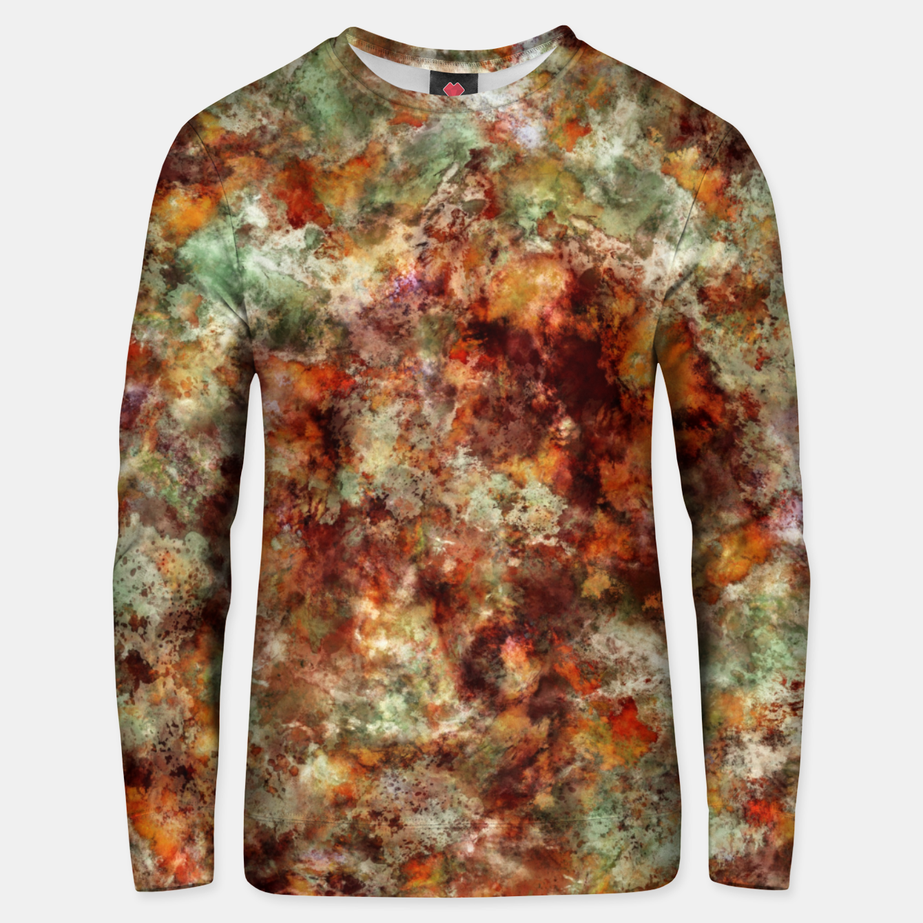 Image of Submerged leaves Unisex sweater - Live Heroes