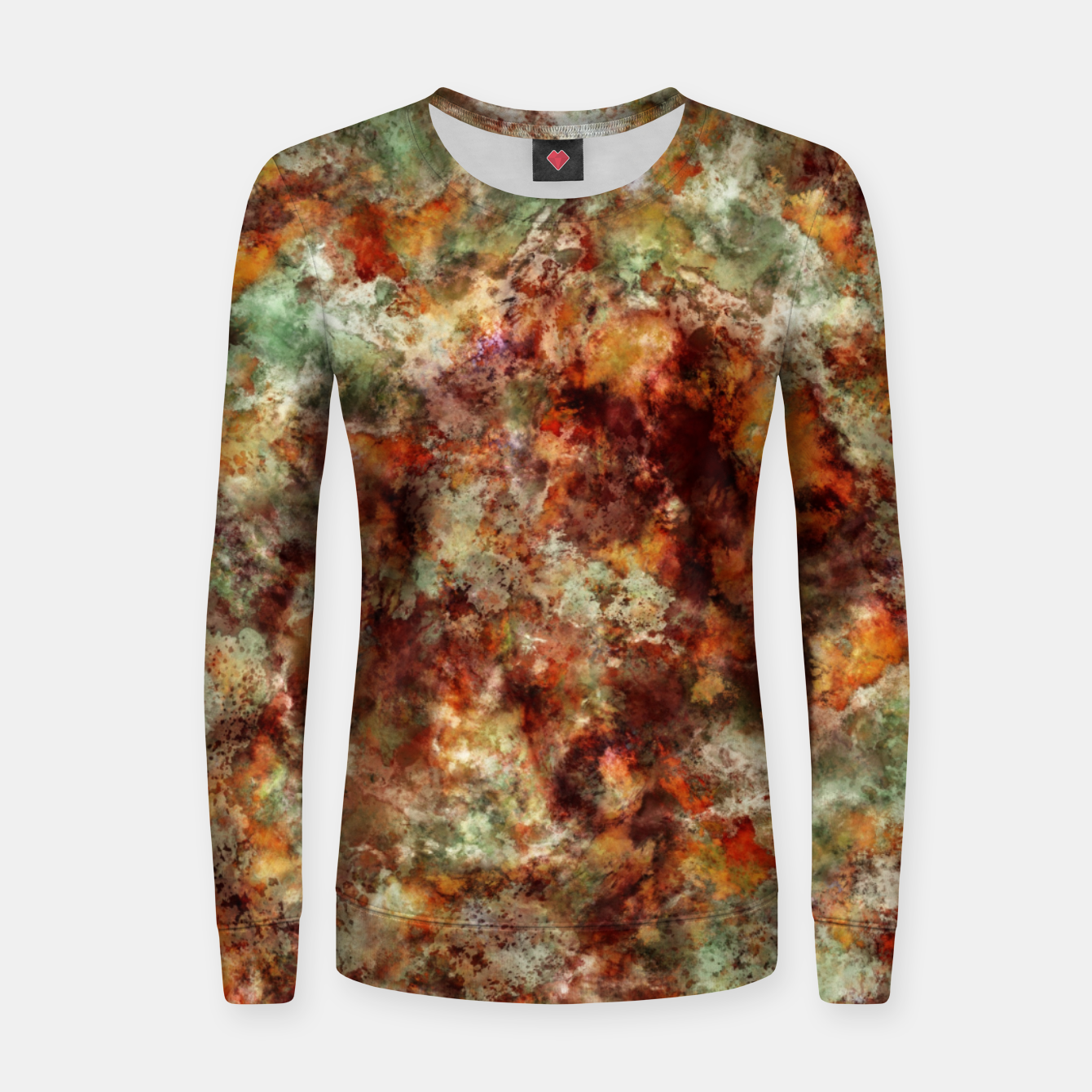 Image of Submerged leaves Women sweater - Live Heroes