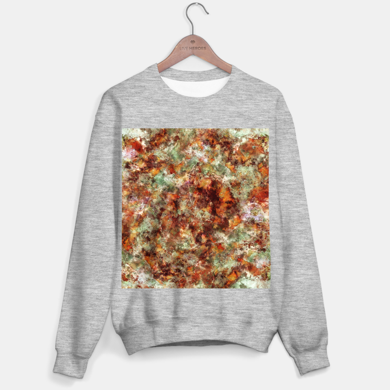 Image of Submerged leaves Sweater regular - Live Heroes