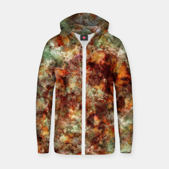 Submerged leaves Zip up hoodie thumbnail image