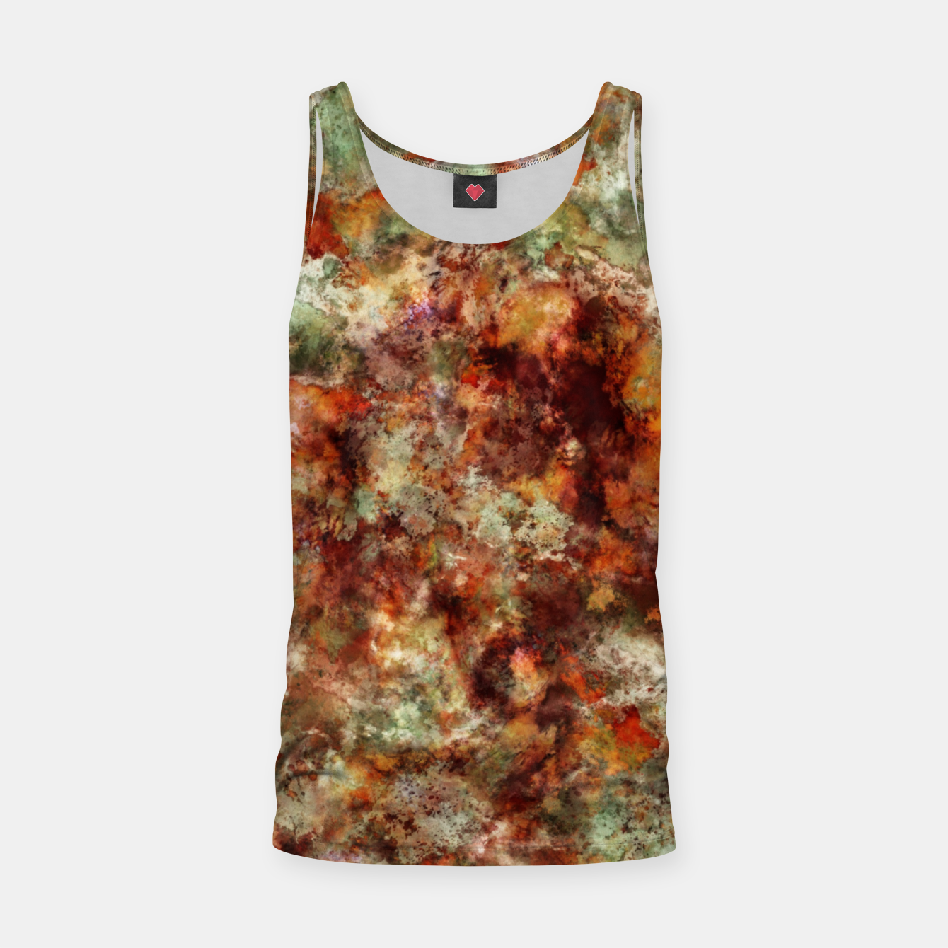 Image of Submerged leaves Tank Top - Live Heroes