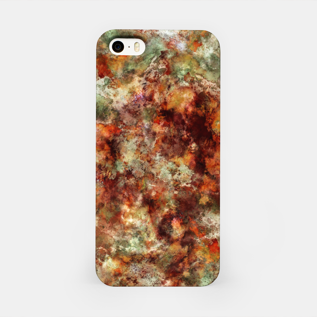 Image of Submerged leaves iPhone Case - Live Heroes
