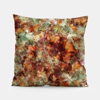 Submerged leaves Pillow thumbnail image