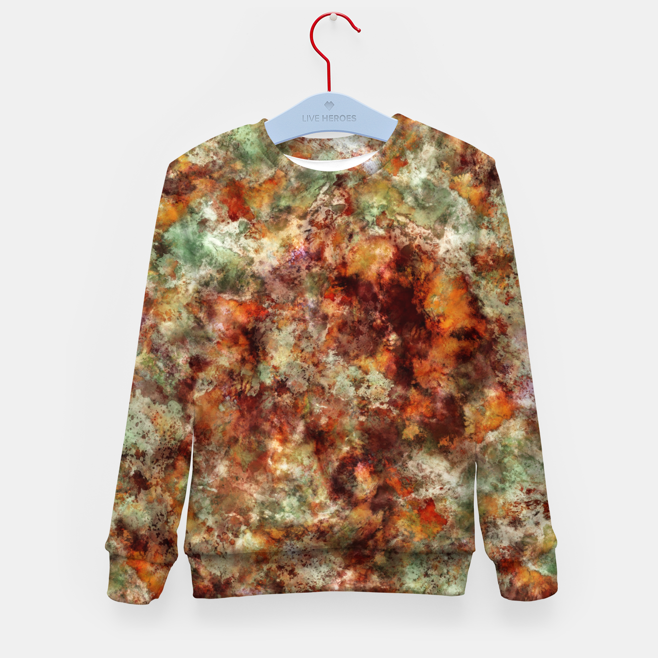 Image of Submerged leaves Kid's sweater - Live Heroes