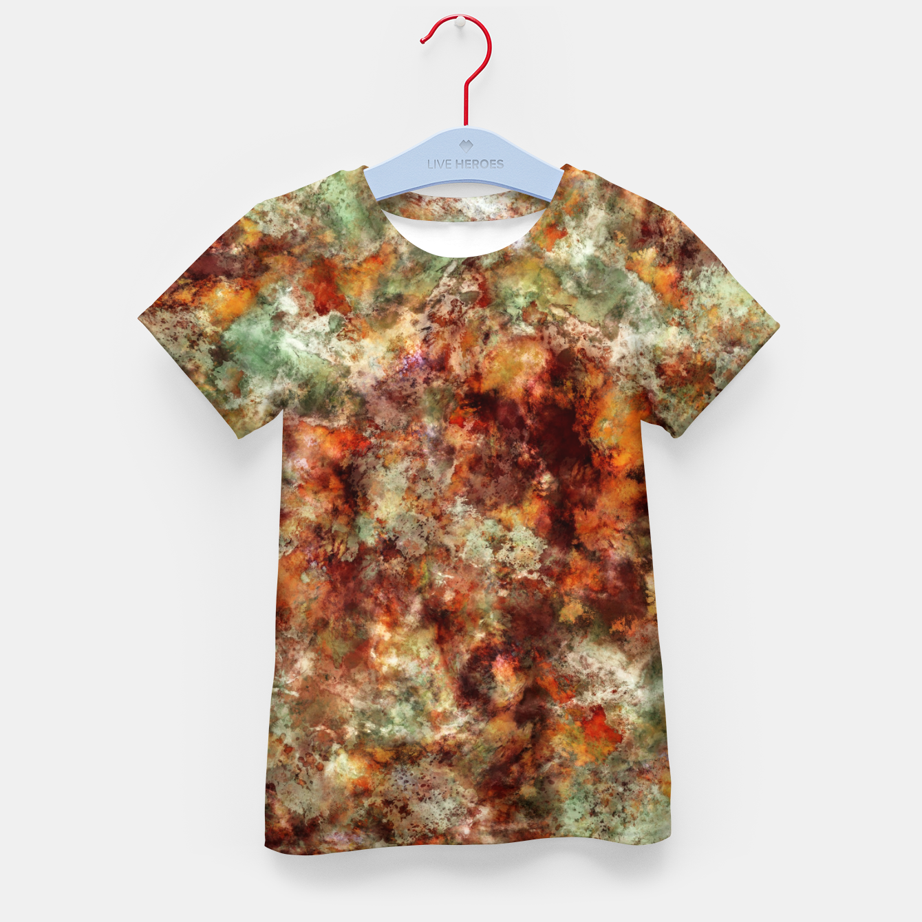 Image of Submerged leaves Kid's t-shirt - Live Heroes