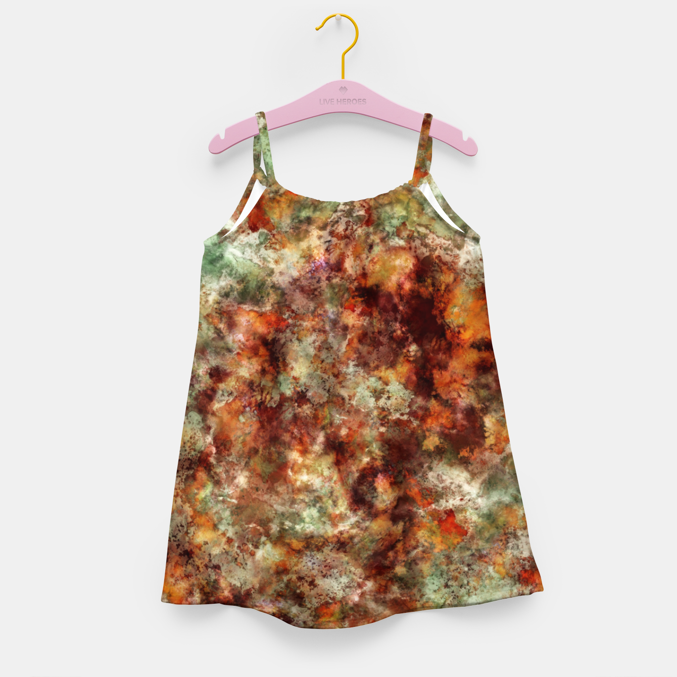 Image of Submerged leaves Girl's dress - Live Heroes