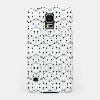 Thumbnail image of Modern Geometric Black and White Pattern Samsung Case, Live Heroes