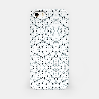 Thumbnail image of Modern Geometric Black and White Pattern iPhone Case, Live Heroes