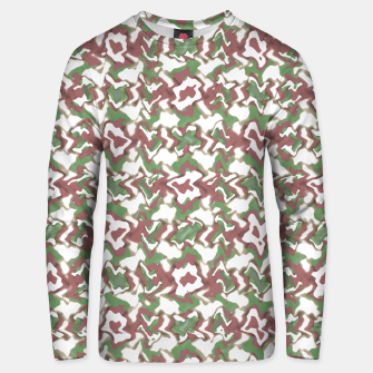 Thumbnail image of Multicolored Texture Print Pattern Unisex sweater, Live Heroes
