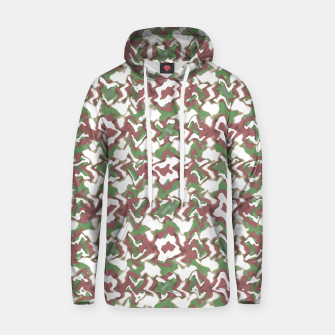 Thumbnail image of Multicolored Texture Print Pattern Hoodie, Live Heroes
