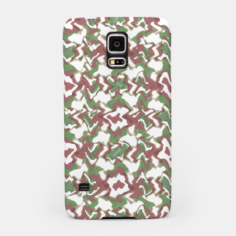 Thumbnail image of Multicolored Texture Print Pattern Samsung Case, Live Heroes