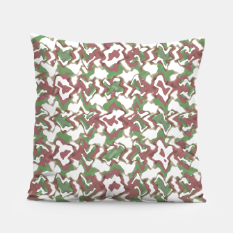 Miniatur Multicolored Texture Print Pattern Pillow, Live Heroes