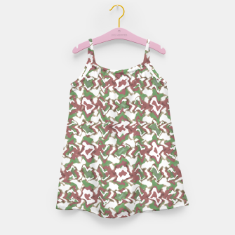 Thumbnail image of Multicolored Texture Print Pattern Girl's dress, Live Heroes