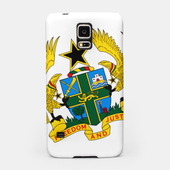Miniaturka GHANAIAN COAT OF ARMS Samsung Case, Live Heroes