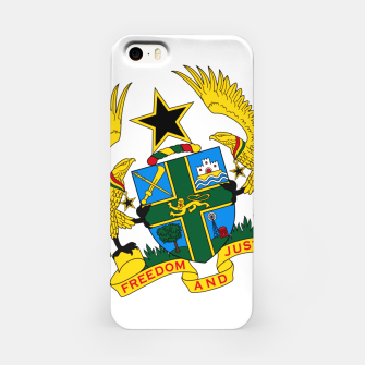 Thumbnail image of GHANAIAN COAT OF ARMS iPhone Case, Live Heroes