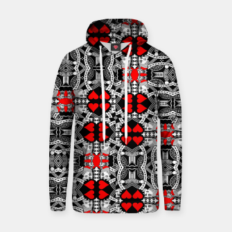 Miniatur KING OF HEARTS (RED AND BLACK) TILED Hoodie, Live Heroes