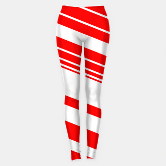 Thumbnail image of PEPPERMINT TUESDAY VERTICAL 2 Leggings, Live Heroes