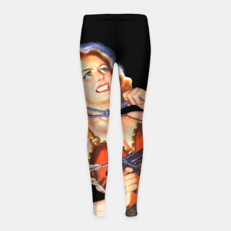 Thumbnail image of MISSION TO MARS-5 Girl's leggings, Live Heroes