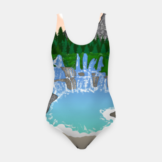 Miniatur Mountains & Whirlpools  Swimsuit, Live Heroes