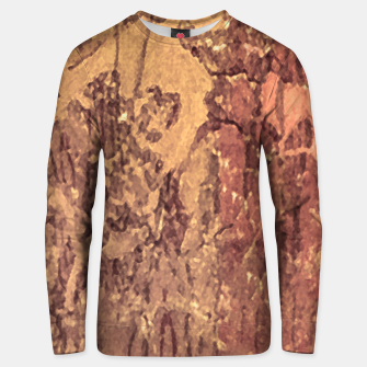Thumbnail image of Abstract Cracked Texture Print Unisex sweater, Live Heroes