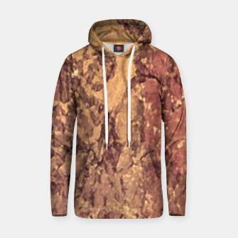 Thumbnail image of Abstract Cracked Texture Print Hoodie, Live Heroes
