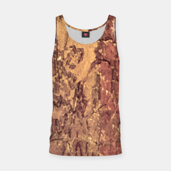 Thumbnail image of Abstract Cracked Texture Print Tank Top, Live Heroes