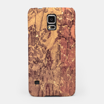 Thumbnail image of Abstract Cracked Texture Print Samsung Case, Live Heroes