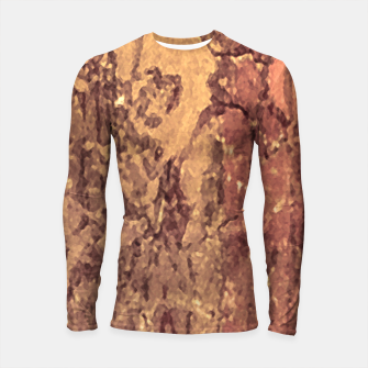 Thumbnail image of Abstract Cracked Texture Print Longsleeve rashguard , Live Heroes