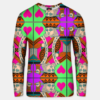 Thumbnail image of KING OF HEARTS Unisex sweater, Live Heroes