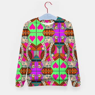 Thumbnail image of KING OF HEARTS Kid's sweater, Live Heroes