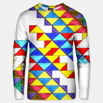 Miniature de image de Centrally Reflective Triangles Unisex sweater, Live Heroes