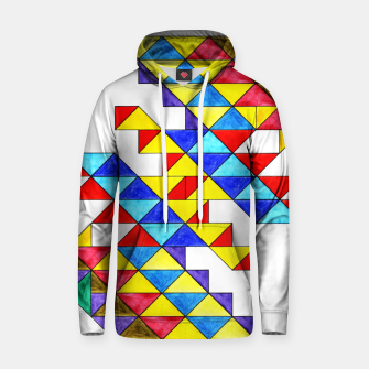 Miniature de image de Centrally Reflective Triangles Hoodie, Live Heroes