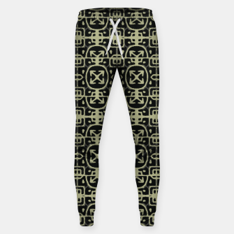 Thumbnail image of Dark Ethnic Geo Print Sweatpants, Live Heroes