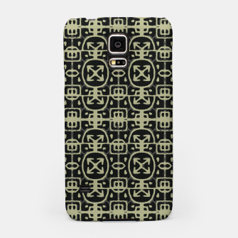 Thumbnail image of Dark Ethnic Geo Print Samsung Case, Live Heroes