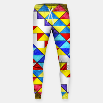 Miniature de image de Centrally Reflective Triangles Sweatpants, Live Heroes
