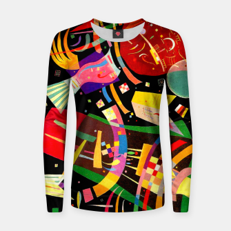 Miniatur Kandinsky-Composition X Women sweater, Live Heroes