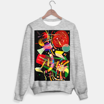 Miniaturka Kandinsky-Composition X Sweater regular, Live Heroes