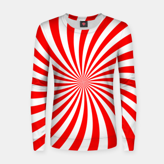 Miniatur PEPPERMINT TUESDAY SWIRL Women sweater, Live Heroes