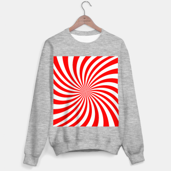 Miniaturka PEPPERMINT TUESDAY SWIRL Sweater regular, Live Heroes
