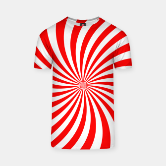 Thumbnail image of PEPPERMINT TUESDAY SWIRL T-shirt, Live Heroes