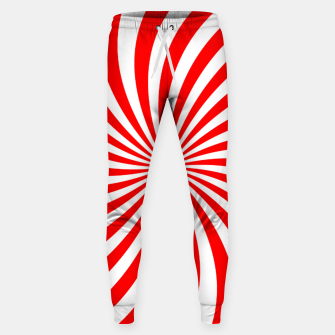 Thumbnail image of PEPPERMINT TUESDAY SWIRL Sweatpants, Live Heroes