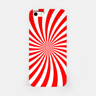 Thumbnail image of PEPPERMINT TUESDAY SWIRL iPhone Case, Live Heroes