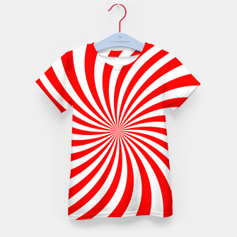 Thumbnail image of PEPPERMINT TUESDAY SWIRL Kid's t-shirt, Live Heroes