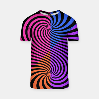 Thumbnail image of FASHIONISTA STRIPES 10 T-shirt, Live Heroes