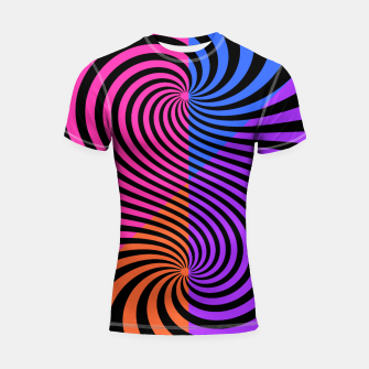 Thumbnail image of FASHIONISTA STRIPES 10 Shortsleeve rashguard, Live Heroes