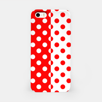 Miniatur POLKA DOTS FASHIONISTA iPhone Case, Live Heroes